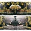 Ivana Keser Battista: Local-Global art newspapers (1993-2003) Newspapers Garden Mirror, Luxembourg, 2001