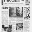 Ivana Keser Battista: Local-Global art newspapers (1993-2003) Paradise, supplement in Kleine Zeitung, Graz, 1996