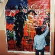 [Fig. 2] Komar & Melamid. (1974) Art Belongs to the People. Moscow, private apartment. Photo: The artists.