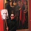 Kenneth McBride artist (2009) Re-enactment: Lenin in Warsaw. Warsaw, National Museum. (Photo: Tomasz Jeziorowski)